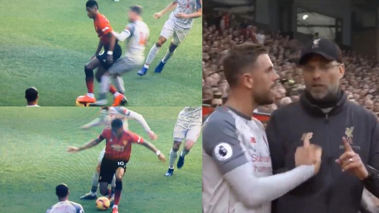 Henderson no tuvo su mejor actuación en Old Trafford. Collage/Movistar+