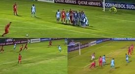 La locura de la Sudamericana: tres goles en ocho minutos. Capturas