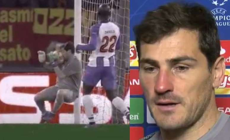 Un paradón algo doloroso. Capturas/Movistar+/ESPN