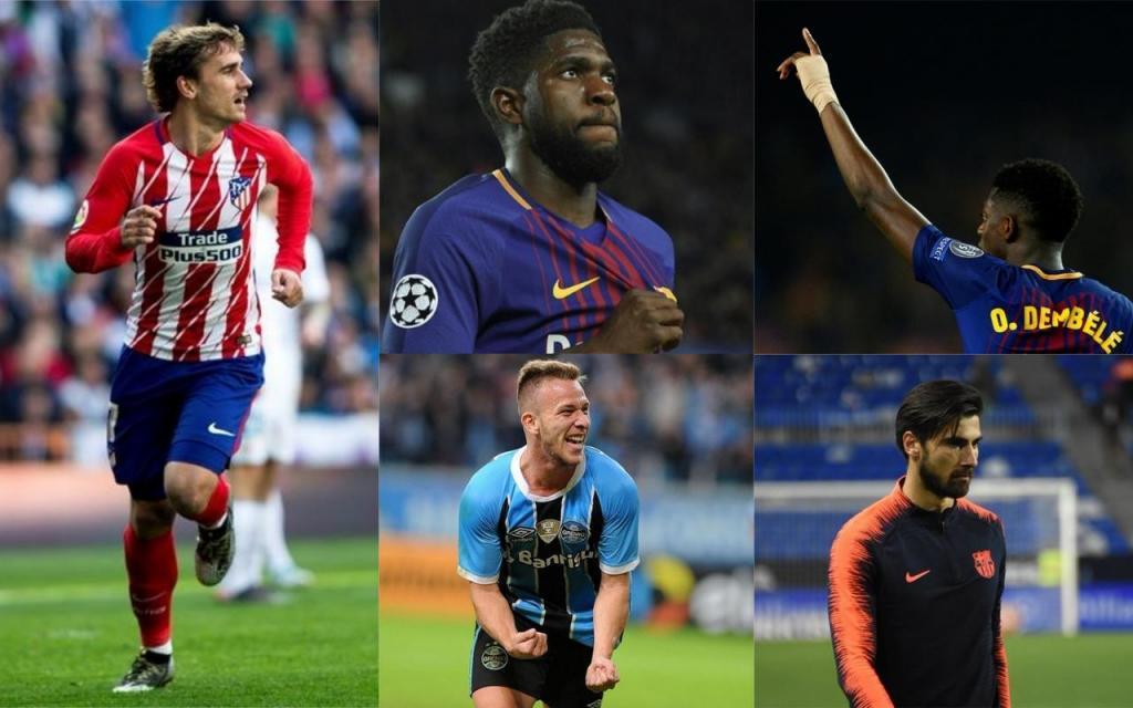 Accord avec Griezmann pour un contrat de cinq ans — Barça