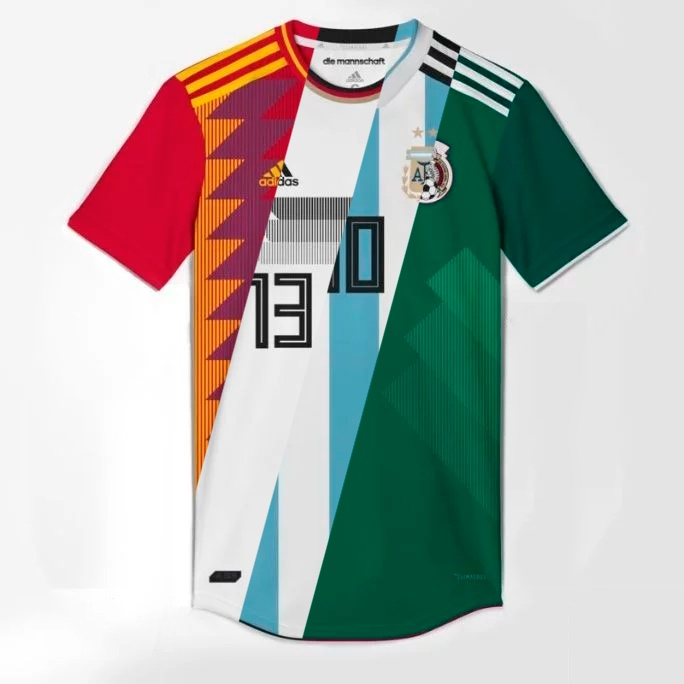 minorista online bebé original mejor calificado Is this what the Adidas shirts will look like for the World Cup in Russia?  - BeSoccer