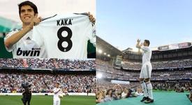Las presentaciones más grandes de la historia del Real Madrid. EFE/AFP