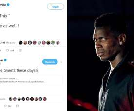 Tous contre Pogba. Twitter