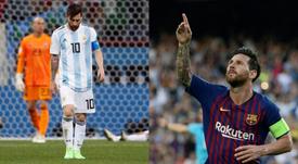 Les objectifs de Messi en 2019. BeSoccer