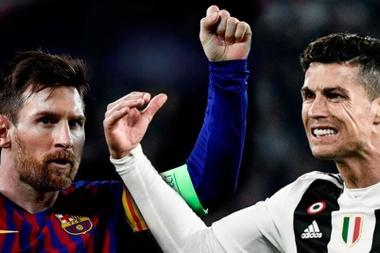 O palmarés de Lionel Messi vs. Cristiano Ronaldo. AFP/EFE