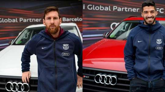 Messi and Suarez will have to give their cars back unless they pay a sum. FCBarcelona