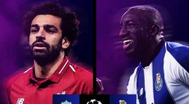 Liverpool-Oporto: el vigente finalista contra el tapado. @ChampionsLeague