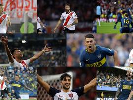 As 10 cláusulas mais altas da Argentina. Collage/BeSoccer