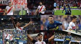Las 10 cláusulas más altas de Argentina. Collage/BeSoccer