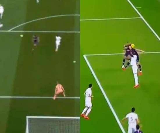 Di María y Cavani encarrilan el duelo en cuatro minutos. Collage/beINSports