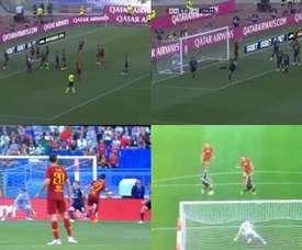 Les deux buts des Argentins. Capture/ESPN