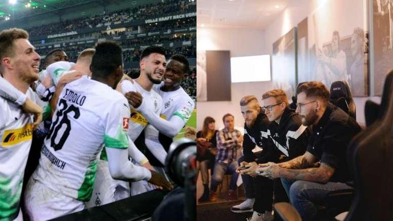 Borussia Mönchengladbach domina no campo e fora dele. AFP/Borussia_esport