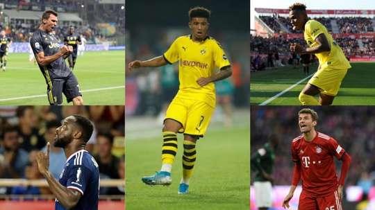 Manchester United sur 5 nouveaux joueurs. EFE/AFP