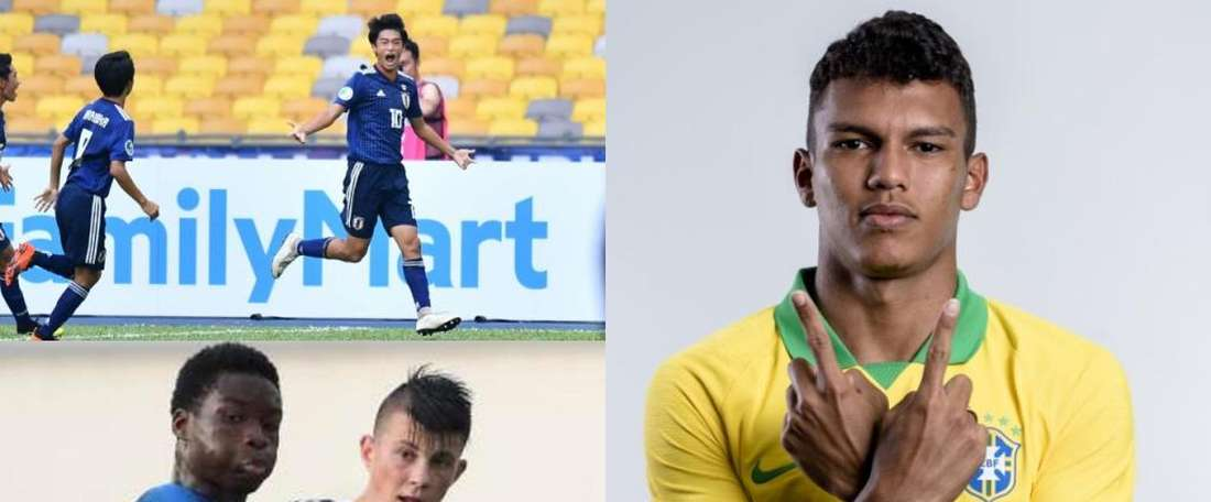 U17 World Cup: the youngsters Barça will be keeping an eye on.  CBF/AFC/LucienAgoume