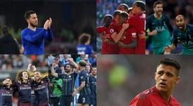 Les objectifs du Big Six de Premier League pour le mercato. AFP