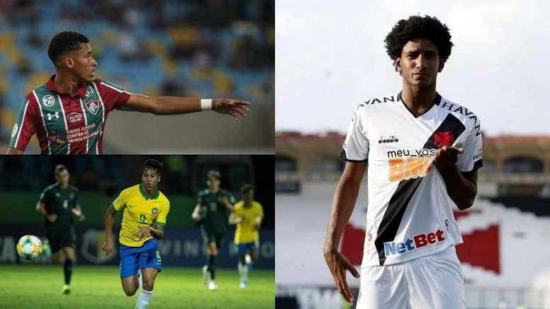 Las diez joyas brasileñas a tener en cuenta en la vuelta del Brasileirao. Montaje/BeSoccer