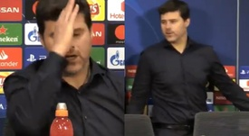 Pochettino no se paró a responder. Collage/BeanymanSports