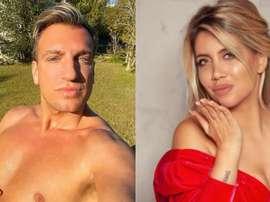 Maxi Lopez attaque Wanda Nara. Instagram