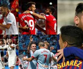 Only two of these five strike partnerships remain. Collage/EFE/AFP