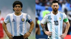 Para Cassano, Messi está acima de Maradona. EFE/Archivo