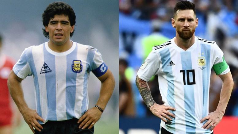 Messi fait-t-il vraiment moins bien que Maradona en Sélection ...