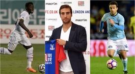 Muntari, Flamini y Giuseppe Rossi, tres de los jugadores que buscan equipo. BeSoccer