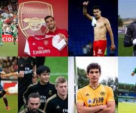 Madrid disperse ses talents dans les grandes ligues. Collage/EFE/AFP