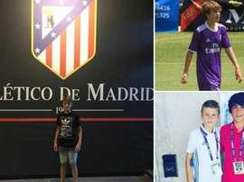 Pablo Barrios dejó el Real Madrid por el Atlético. Instagram