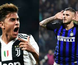 Icardi and Dybala could be set to swap teams. AFP