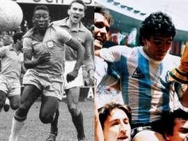 Les stars du foot qui ont débuté leur carrière à l'adolescence. AFP