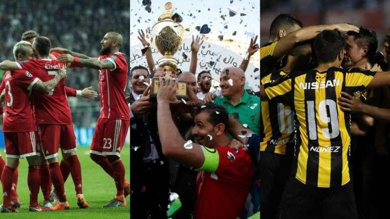 Bayern, Peñarol y Al-Ahly, tres de los equipos que más títulos tienen. BeSoccer