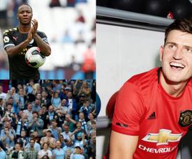 Le Top 20 des joueurs anglais les plus chers.  EFE/AFP/ManUtd