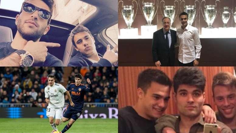 Nos reíamos de Reguilón y ahora nos manda entradas de Champions. Instagram/AFP