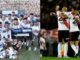 Central Córdoba e River Plate são os finalistas da Copa Argentina 2019. Montaje/BeSoccer