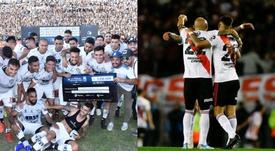 Central Córdoba y River Plate, finalistas de la Copa Argentina 2019. Montaje/BeSoccer
