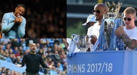 Montagem de Robinho, Guardiola e a Premier League. BeSoccer