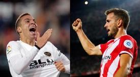Rodrigo e Stuani entre as prioridades do Barça. EFE