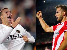 Rodrigo and Stuani are Barcelona's targets. EFE