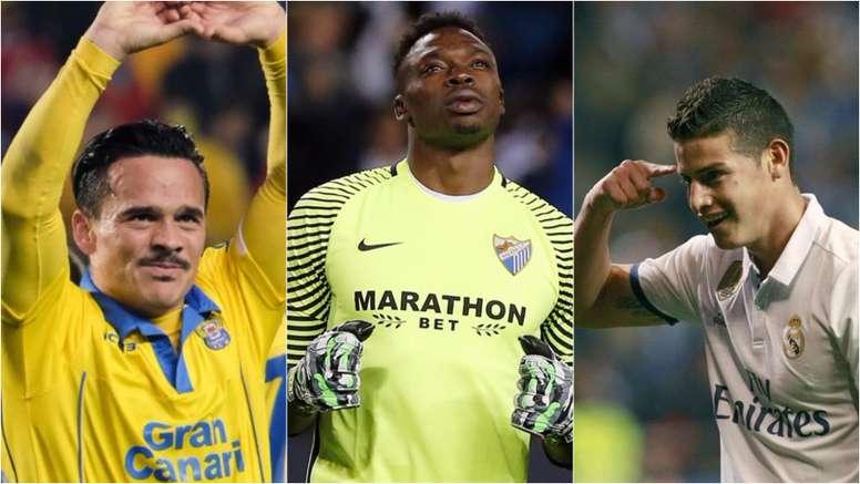 Roque Mesa, Kameni y James son tres de los jugadores que dejan LaLiga. BeSoccer