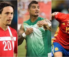 Subotic, K.P. Boateng y Diego Costa, tres de los jugadores que cambiaron de selección. BeSoccer