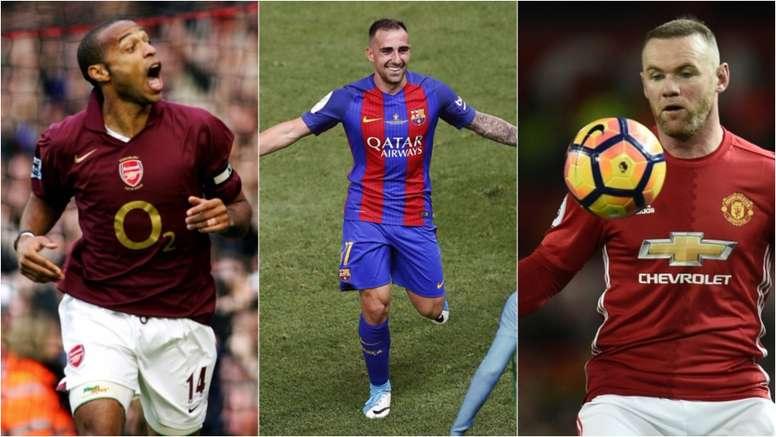 Thierry Henry, Alcácer y Rooney marcaron el último gol oficial de un estadio. BeSoccer