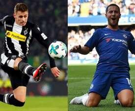 Los hermanos Hazard están de dulce. AFP/BeSoccer