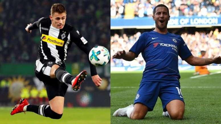 La dinastía Hazard puede abandonar el Chelsea. AFP/BeSoccer