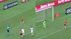 El 'Panenka' que mejora a Ramos y cualquier versión. Captura/Youtube