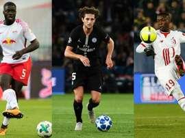 Le Barça s'intéresse à tous ces joueurs. AFP