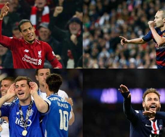 A seleção da década segundo France Football. AFP/EFE
