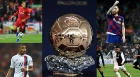 Les 30 joueurs nommés pour le Ballon d'Or 2019. AFP