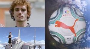Le nouveau ballon de LaLiga présenté... avec Griezmann !