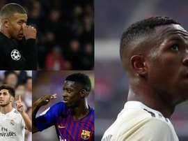Les huit adversaires potentiels de Vinicius pour le futur Ballon d'Or. BeSoccer/EFE/AFP
