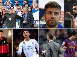Les protagonistes des affrontements les plus célèbres du football. BeSoccer